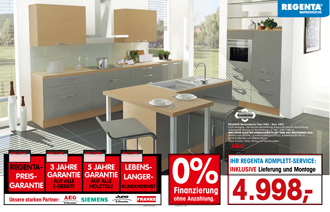 Regenta Markenküchen Küchen Horstmann